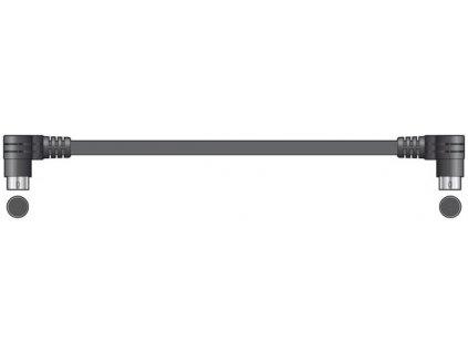 AV:link propojovací kabel pro dvojité CD přehrávače, mini DIN, 1.2m
