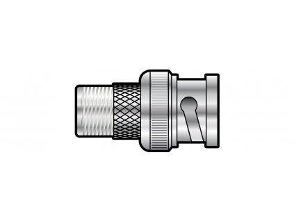 AV:link adaptér F-konektor samice - BNC samec