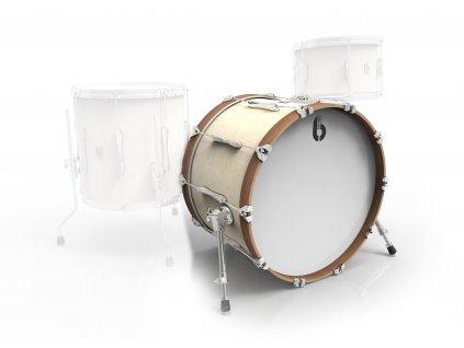 """BDC Lounge Bass Drum 18x 14"""" WW"""