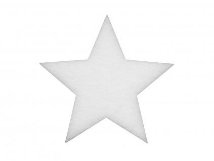 Zimní hvězda z nehořlavé vlny, 41 cm