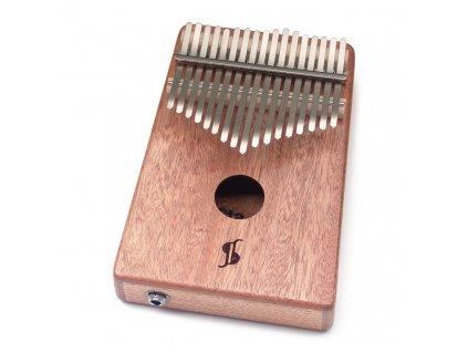 Stagg KALI-PRO17E-MA, elektroakustická kalimba, 17 tónů, mahagon