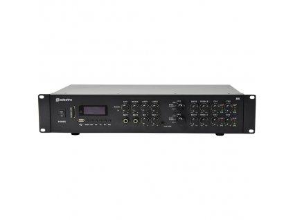 Adastra A4, duální stereo PA zesilovač, MP3/SD/USB/BT/FM, 4x 200W