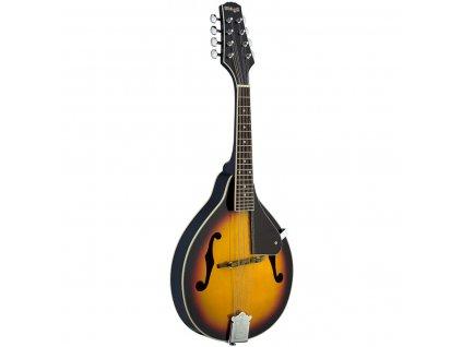 Stagg M20, bluegrassová mandolína, violinburst