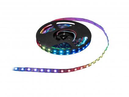 Eurolite LED 150 Pixel Strip, RGB světelná páska, 5 V, 2,5 m