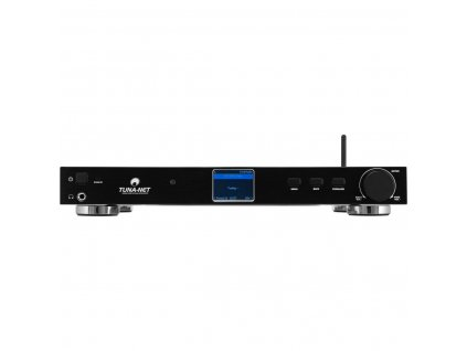 "Omnitronic TUNA-NET 19"" internetové rádio s DAB+ a Bluetooth"