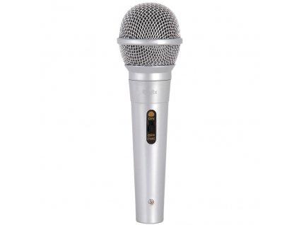 QTX DM11S dynamický mikrofon, stříbrný