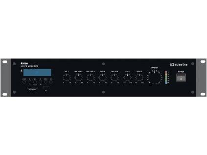 Adastra RM60, mixážní zesilovač, 100V, 60W, BT/MP3/FM