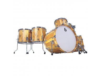 "BDC Legend SE Spalted Beech Bass Drum 20x14"""