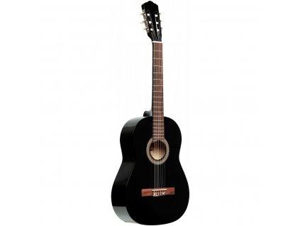 Stagg SCL50 1/2-BLK, klasická kytara 1/2, černá