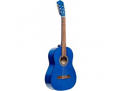 Stagg SCL50 1/2-BLUE, klasická kytara 1/2, modrá