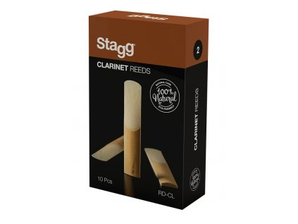 Stagg RD-CL 2, plátky pro B klarinet