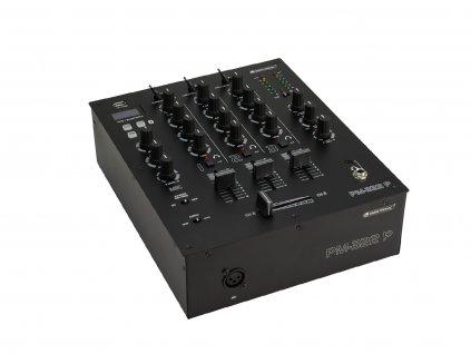 Omnitronic PM-322P, 3-kanálový mixážní pult s MP3/BT přehrávačem