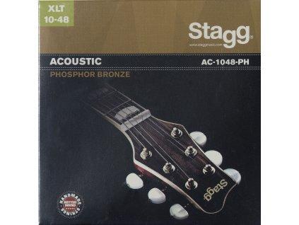 Stagg AC-1048-PH, sada strun pro akustickou kytaru, extra-light