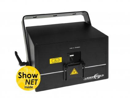 Laserworld DS-2000RGB (ShowNET), laser 2 W, ArtNet, DMX, ILDA