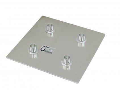 Alutruss QUADLOCK QL-ET, základová deska, QQGP 50cm x 50cm