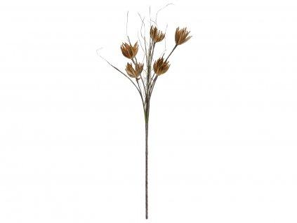 Artyčok větvička(EVA), umělá, béžová, 100cm