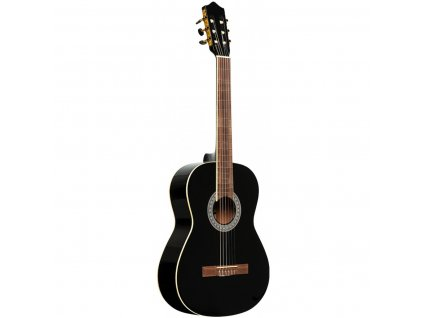 Stagg SCL60-BLK, klasická kytara 4/4, černá