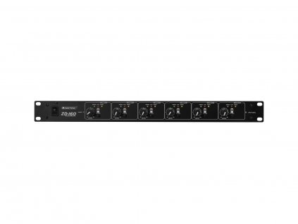 OMNITRONIC ZD-160B zónový distributor výstupy