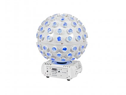 Eurolite LED B-40, 5x4W QCL efekt s laserem, DMX, bílý