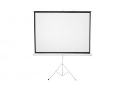 """Eurolite projekční plátno 4:3, 172 x 130 cm, 85"""", se stojanem"""