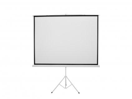 """Eurolite projekční plátno 4:3, 200 x 150 cm, 100"""", se stojanem"""
