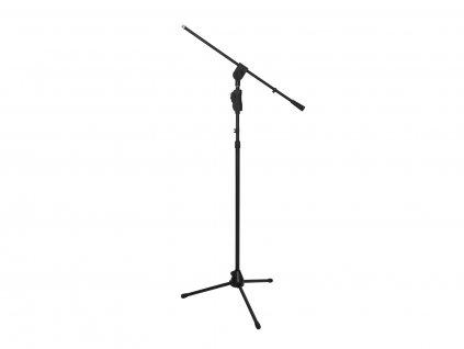 Omnitronic MS-3, mikrofonní stojan s ramenem, černý