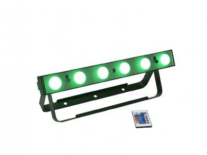 EUROLITE AKKU LED Bar-6x8W QCL, IP20,DMX