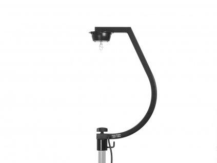 Eurolite stojan s motorkem 1 ot./min. pro zrcadlové koule do 30 cm, černý