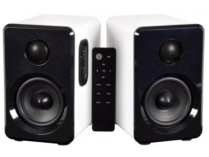 AV:Link ABS35WHT, sada aktivních BT/MP3 reproduktorů s DO, bílé