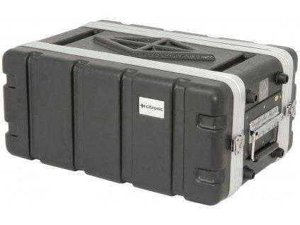 """Citronic ABS4US Plastový přepravní kufr pro 19"""" zařízení"""