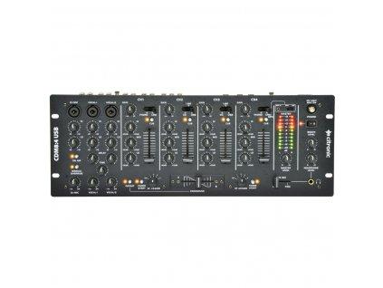 Citronic CDM8:4 USB, 4-kanálový DJ mixážní pult