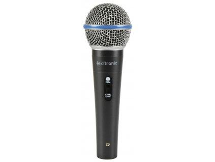 Citronic DM15, dynamický mikrofon, kovové tělo