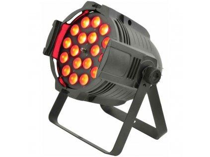 QTX ZP18 PAR reflektor, 18x 8W RGBW, DMX