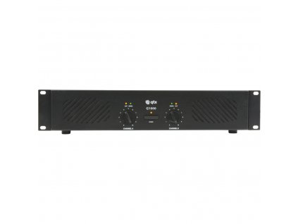 QTX Q-1000, zesilovač 2x 500W