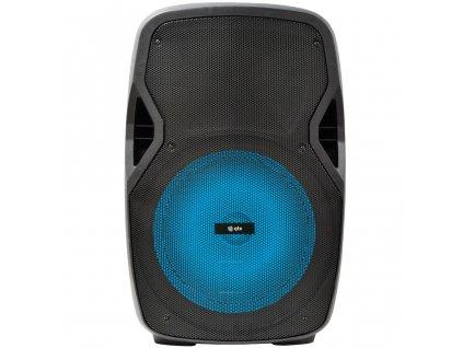"QTX PAL- mobilní 15"" zvukový systém MP3/SD/USB/BT/FM/ 2x VHF, 250W"