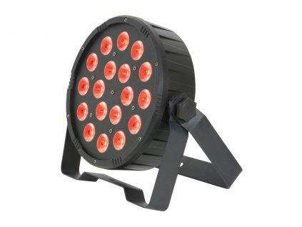 QTX PAR100 Výkonný PAR 3v1, 18x 1,5W RGB LED