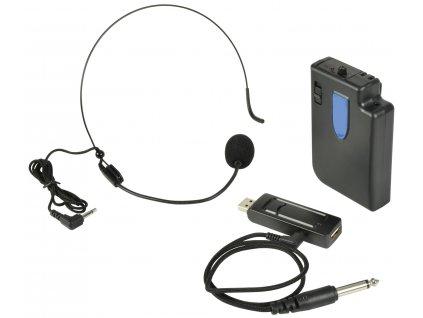 QTX U-MIC Bezdrátový mikrofonní systém, UHF 864.8 MHz