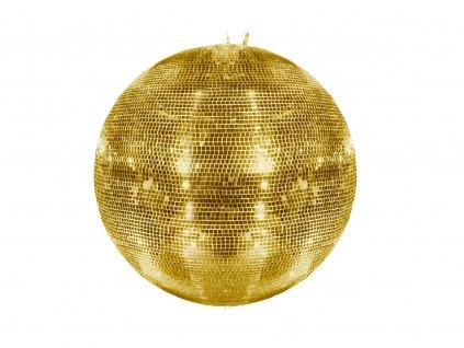 Eurolite Zrcadlová koule 75 cm, zlatá