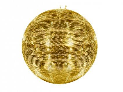 Eurolite Zrcadlová koule 100 cm, zlatá