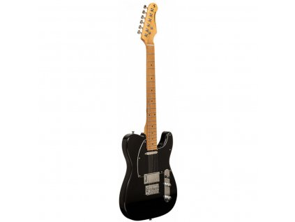 Stagg SET-PLUS BK, elektrická kytara, černá