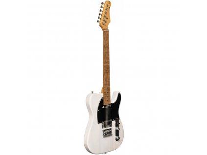 Stagg SET-PLUS WHB, elektrická kytara, bílá