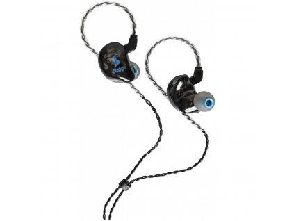 Stagg SPM-435 BK 4-driver, In-Ear sluchátka, černá