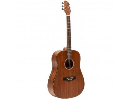Stagg SA25 D MAHO, akustická kytara typu Drednought