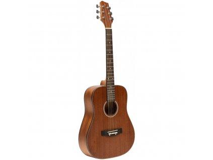 Stagg SA25 MAH TRAVEL, akustická kytara typu Dreadnought