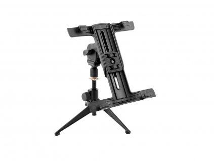 Omnitronic Set: KS-4 stolní mikrofonní stojan + PD-4 držák na tablet