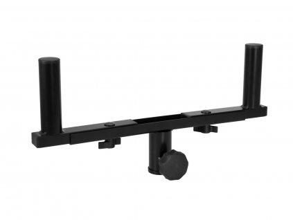Omnitronic GBE-1, vidlice pro montáž dvou reproduktorů na stojan