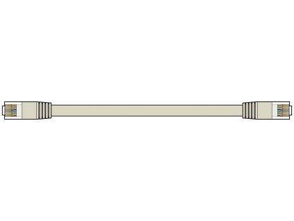 AV:Link Ethernetový kabel Cat6 UTP RJ45, 20m