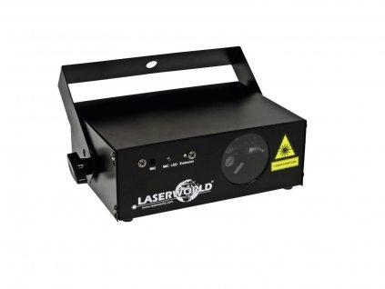 Laserworld EL-120R MKII, červený klubový laser