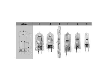 Žárovka ochranná 12V/35W