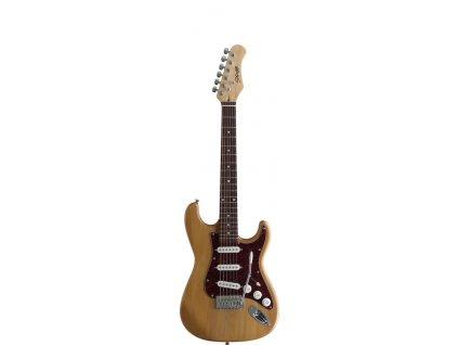 Stagg S300 3/4 NS, elektrická kytara 3/4, přírodní